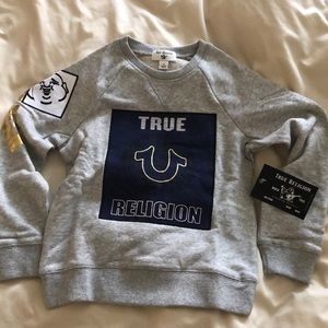 Kids True Religion Sweater, size 5
